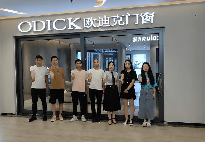欧迪克门窗单店培训 -河南郑州店